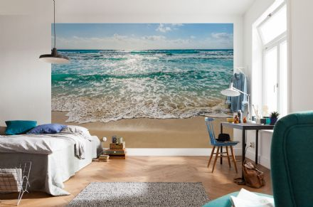 Seaside - beach scene  wall mural wallpaper